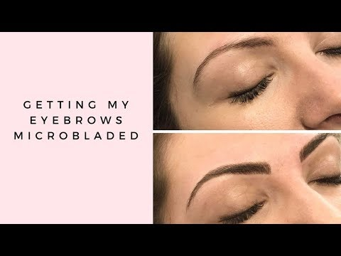 GETTING MY EYEBROWS MICROBLADED & MORE WEDDING DRESS SHOPPING | MICROBLADING EXPERIENCE