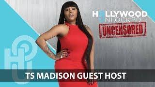 TS Madison talks Heterosexual Males Having Homosexual Experiences on Hollywood Unlocked [UNCENSORED]