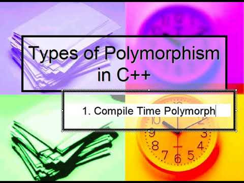 Types of Polymorphism in C++