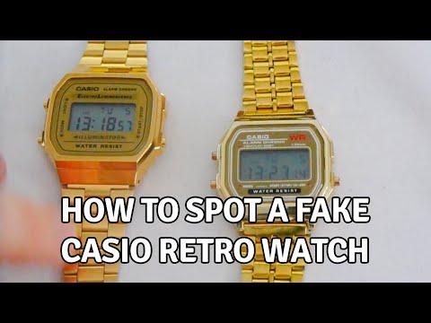 How to Spot a Fake Casio Retro Watch