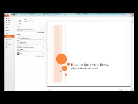 How to Print Slides in PowerPoint 2010