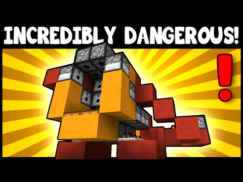 SUPER DESTRUCTIVE TNT CANNON! - Minecraft Tutorial