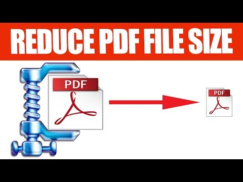 How to compress PDF file to smaller size easily