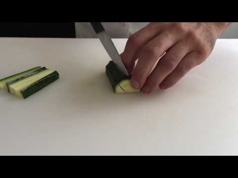 How to Dice Zucchini