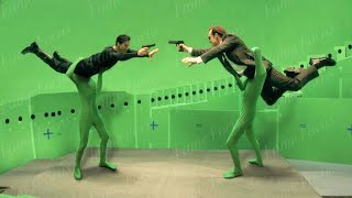 This Is What 'The Matrix' Really Looks Like Without CGI!!! - Special Effects Breakdown