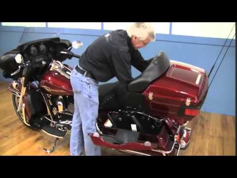 Mustang Heated Seat Installation for Harley Touring at GetLowered.com