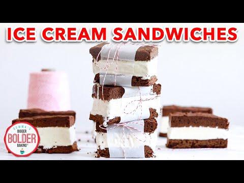 Ice Cream Sandwiches - Gemma's Bigger Bolder Baking Ep 182