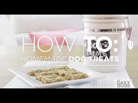 Easy DIY dog treats that will give your pup fresh breath