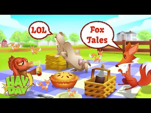Hay Day Live - Fox Tales - A Discussion on catching, keeping, and using them