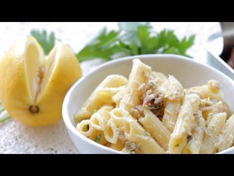 Tuna lemon pasta recipe