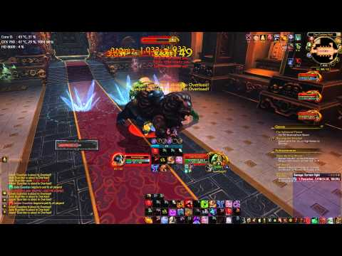 WoD Pre patch 6.0.2 Blood DK The Stone Guards 10HC Solo