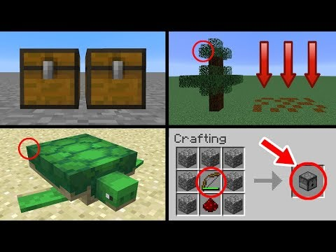 ✔ Minecraft 1.13 Update - 15 Changes You Never Noticed