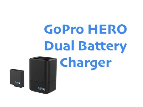 GoPro Hero 5-6 Dual Battery Charger & Battery UNBOXINGs