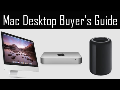 Which Apple Desktop to Buy? Mac Mini vs iMac vs Mac Pro