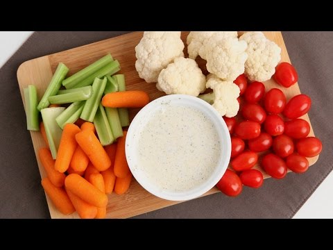 Homemade Ranch Dressing Recipe - Laura Vitale - Laura in the Kitchen Episode 906