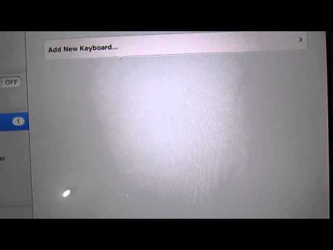How to change keyboard layout in iphone/ipad