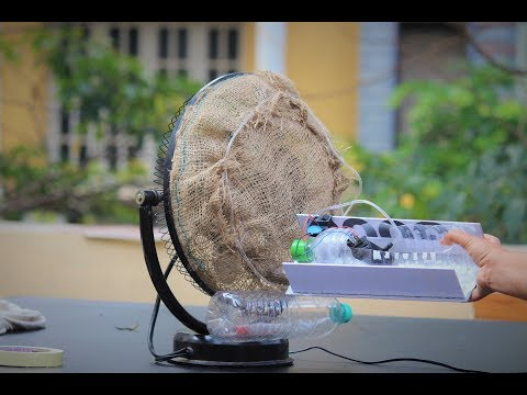 How To Make a Air Cooler using Fan