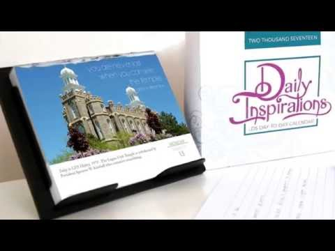 Daily Inspirations - LDS Day-to-Day Calendar by LDSBookstore.com