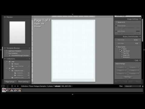 PW142 - Lightroom 3 Quicktips - Picture Packages part 2