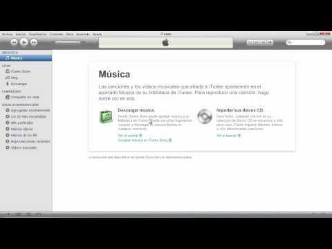 Como importar un CD y convertirlo a mp3 con iTunes