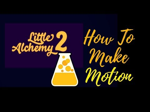 Little Alchemy 2-How To Make Motion Cheats & Hints