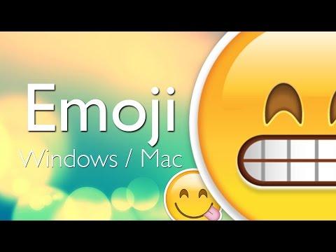 Cómo usar Emoji en Windows y Mac (Emoticons de iPhone, iPod y iPad) - Tutorial Chromoji