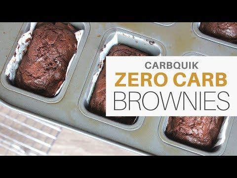 ZERO CARB BROWNIES!   #KETO   #LCHF   #CARBQUIK   100% CACAO CHOCOLATE