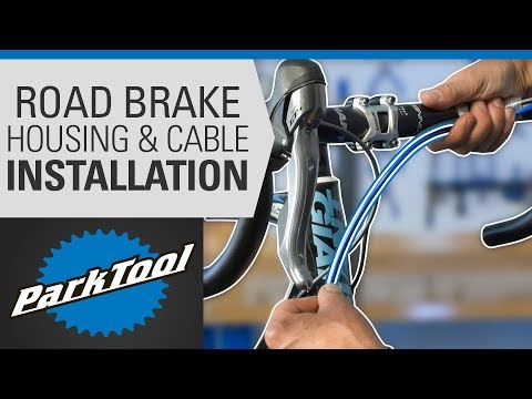 Brake Housing & Cable Installation - Drop Bars