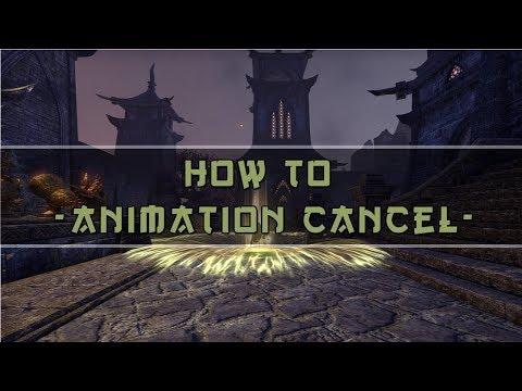 Animation Canceling Guide - Elder Scrolls Online