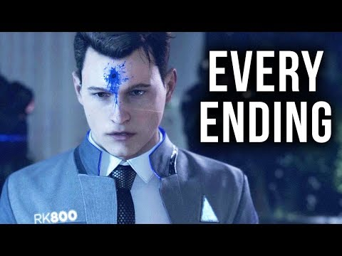 Detroit become human demo all endings