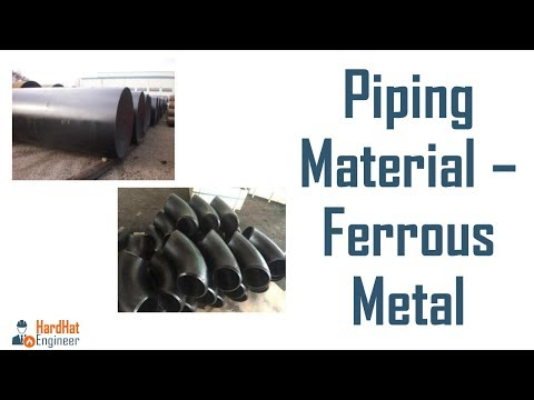 Ferrous Metal- Difference Between Carbon Steel and Cast Steel - Piping Training Video-2