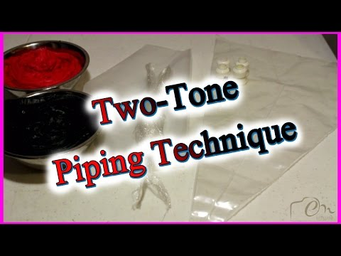 How to Create a Two - Tone Icing Effect (3 Methods)