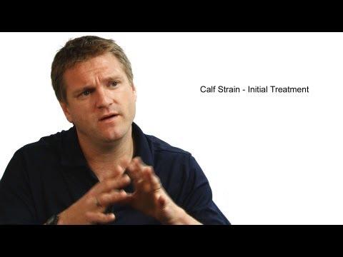 Calf Strain - Initial Treatment