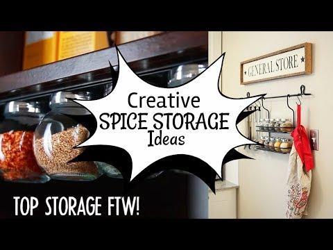 10 DIY Spice Storage ideas