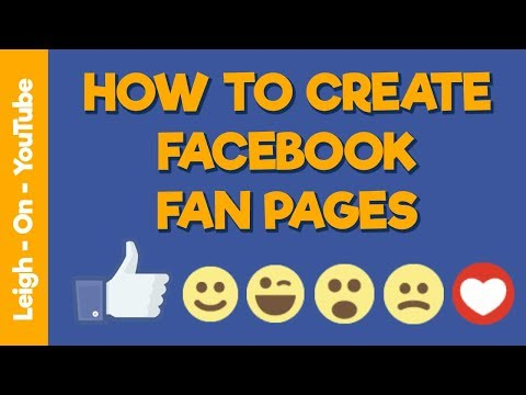 How To Create Facebook Fan Pages