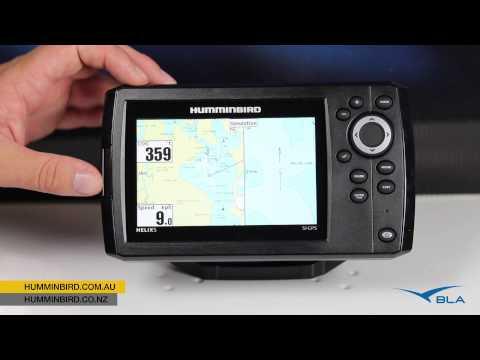 BLA – Humminbird – HELIX 5 SI GPS Overview