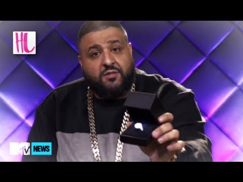 Dj Khaled Proposes To Nicki Minaj With 500k Ring On MTV News