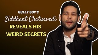 Gully Boy Siddhant Chaturvedi Reveals All His Wierd Secrets With POP Diaries | MC Sher