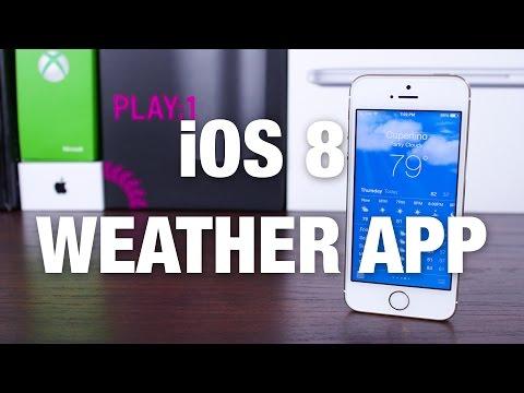 iOS 8: Weather App Improvements