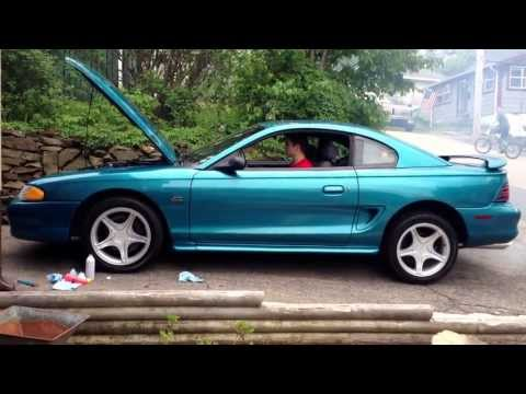 Seafoam on a 1995 Mustang GT