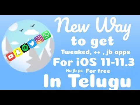 iOS 11.2.5/11.3- How to Get ++Apps With The New AppValley (Snapchat++, Instagram++, etc.) in Telugu