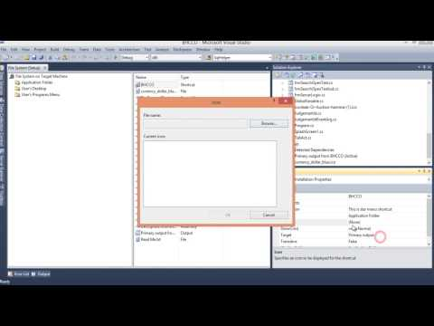 how to create setup project in visual studio 2010