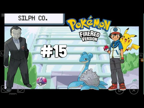Sliph Co. Office take over - Team Rocket....POKÈMON FIRE RED #15