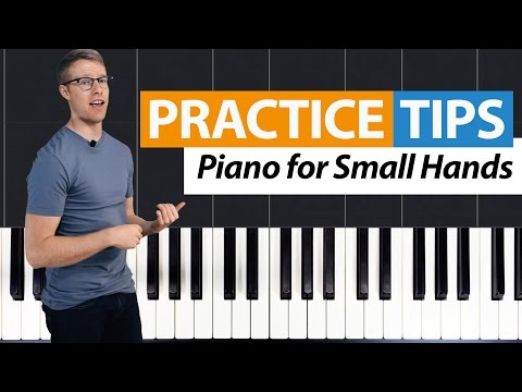 Piano for Small Hands: Reducing Octaves   Practice Tips by HDpiano