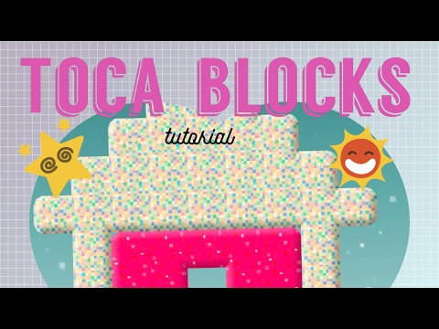 How to Make Blocks in Toca Blocks - Tutorial with Ducky the Bear Lady