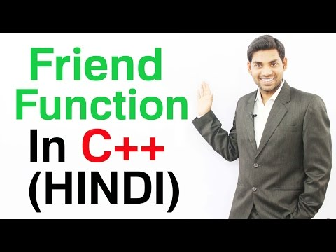 Friend Function In C++ (HINDI/URDU)