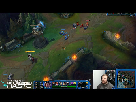 Haste Reduces Ping in League of Legends - Huzzy Games Live Demo