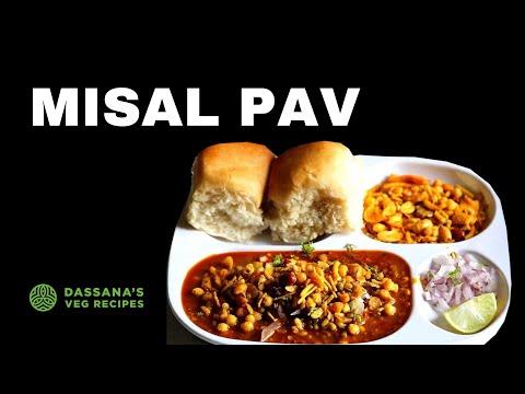 misal pav - easy misal pav, one pot recipe (no pressure cooker)
