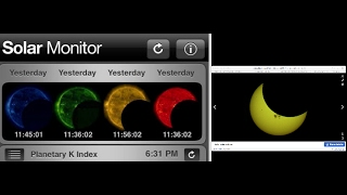 SOLAR MONITOR SHOWS HUGE ANOMALY BLOCKING THE SUN!!