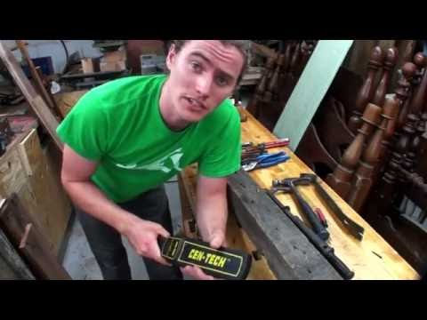 Reclaimed Lumber - Removing Nails and other metal